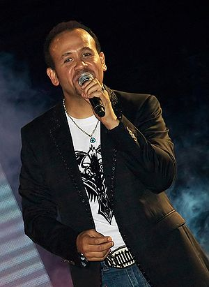 Hisham Abbas performing at the International G...