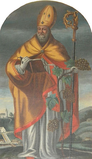 English: Painting of st Nicholas